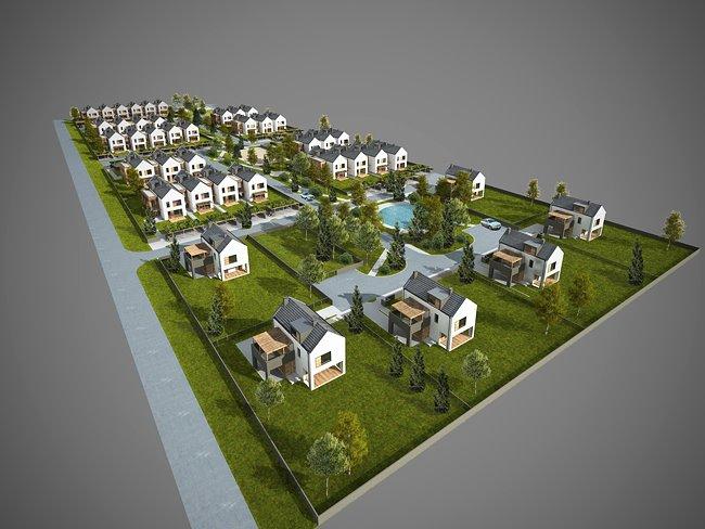 Osiedle domów – Mędłów